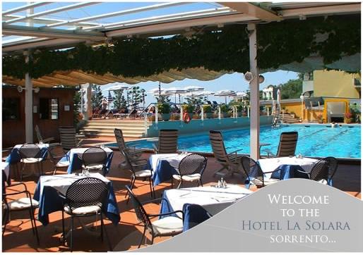 Hotel La Solara Sorrento Official Site Family Friendly Hotel Sorrento